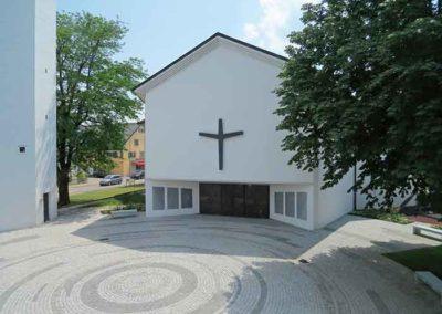 Platzgestaltung Evangelische Kirchgemeinde, Wil