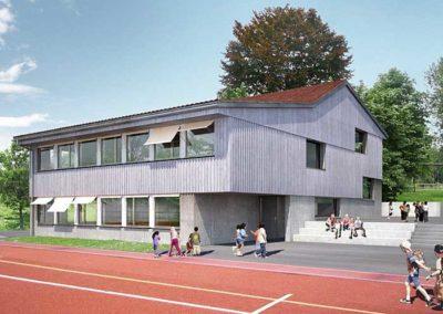 Wettbewerb 1. Rang Schulanlage, Hörhausen