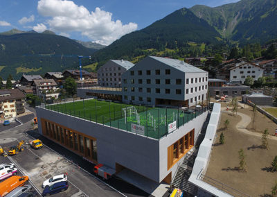 Umgebungsgestaltung – SCHULRAUMSCHAFFUNG (SRS) | Klosters-Serneus
