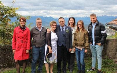 Hochzeit im Team Fässler