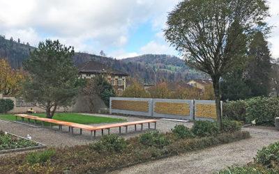 Gemeinschaftsgrab Friedhof Wattwil – Eröffnung und Einweihung