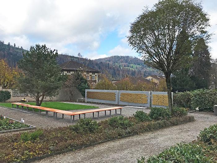 Gemeinschaftsgrab Friedhof Wattwil