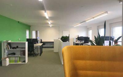 Neue Büroräumlichkeiten