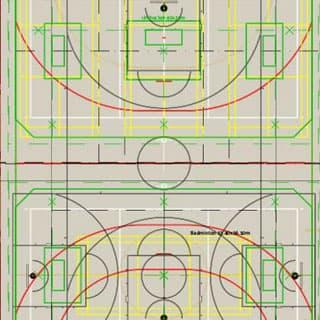 Planung Turnhallenboden mit Köpfchen