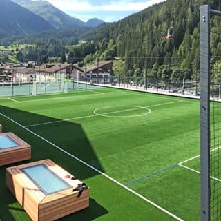 Sportplatzbau Kunststoffbelag Klosters-Serneus