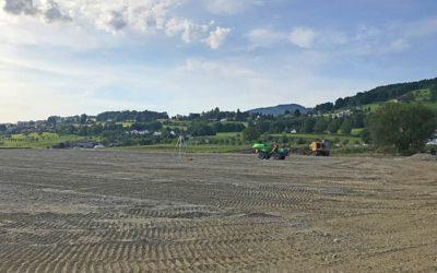Sportanlage Bützelpark Staad – Sanierung Naturrasenfeld