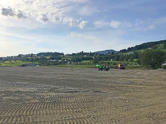 Sportanlage Bützelpark Staad - Rasenplatz sanieren mit Fässler Freiraumplanung